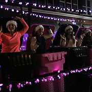 Pink Trash participates in the 12th Annual Wilmington Holiday Parade Sunday December 7, 2014 in Wilmington, N.C. (Jason A. Frizzelle)