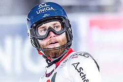 "29.01.2019, Planai, Schladming, AUT, FIS Weltcup Ski Alpin, Slalom, Herren, 2. Lauf, im Bild Marco Schwarz (AUT) // Marco Schwarz of Austria reacts after his 2nd run of men's Slalom ""the Nightrace"" of FIS ski alpine world cup at the Planai in Schladming, Austria on 2019/01/29. EXPA Pictures © 2019, PhotoCredit: EXPA/ JFK"