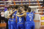 DESCRIZIONE : Elettra Pescara Giochi del Mediterraneo 2009 Mediterranean Games Italia Grecia Italy Greece Semifinal Women<br /> GIOCATORE : Team<br /> SQUADRA : Italia Italy<br /> EVENTO : Elettra Pescara Giochi del Mediterraneo 2009<br /> GARA : Italia Grecia Italy Greece<br /> DATA : 30/06/2009<br /> CATEGORIA : team esultanza<br /> SPORT : Pallacanestro<br /> AUTORE : Agenzia Ciamillo-Castoria/C.De Massis
