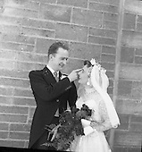 1956 Wedding - Nugent-Ward at Our Lady of Fatima Church, Rialto