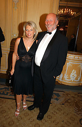 CHRIS & JANICE WRIGHT at the Cartier Racing Awards 2006 held at the Four Seasons Hotel, Hamilton Place, London on 15th November 2006.<br />