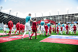 Players of Slovenia coming to pitch during football match between National teams of Slovenia and Malta in Round #6 of FIFA World Cup Russia 2018 qualifications in Group F, on June 10, 2017 in SRC Stozice, Ljubljana, Slovenia. Photo by Vid Ponikvar / Sportida