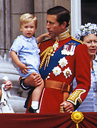 Prince William's 1st Trooping the Colour