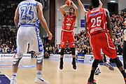DESCRIZIONE : Sassari LegaBasket Serie A 2015-2016 Dinamo Banco di Sardegna Sassari - Giorgio Tesi Group Pistoia<br /> GIOCATORE : Wayne Blackshear<br /> CATEGORIA : Tiro Tre Punti Three Point<br /> SQUADRA : Giorgio Tesi Group Pistoia<br /> EVENTO : LegaBasket Serie A 2015-2016<br /> GARA : Dinamo Banco di Sardegna Sassari - Giorgio Tesi Group Pistoia<br /> DATA : 27/12/2015<br /> SPORT : Pallacanestro<br /> AUTORE : Agenzia Ciamillo-Castoria/C.Atzori