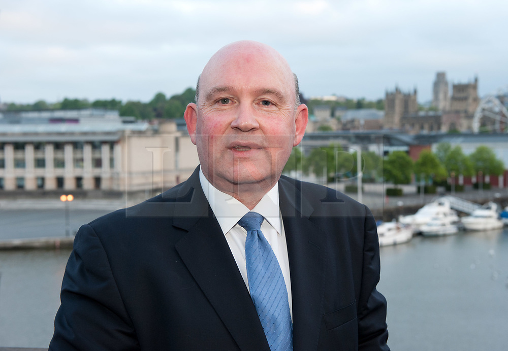 © Licensed to London News Pictures. 05/05/2017. Bristol, UK. TIM BOWLES for the Conservatives wins the West of England Combined Authority Mayoral election 2017 from Labour's Lesley Mansell at the second round of counting. The candidates are: Tim Bowles -Conservative Party; Aaron Warren Foot - UK Independence Party (UKIP); Darren Edward Hall - Green Party; Lesley Ann Mansell - Labour and Co-operative Party; John Christopher Savage - Independent; Stephen Williams - Liberal Democrats. Photo credit : Simon Chapman/LNP