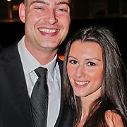 NLD/Amsterdam/20101209 - VIP avond Miljonairfair 2010, Lange Frans Frederiks en partner Danielle van Aalderen
