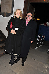 FRANCESCO & GAEL BOGLIONE  at the Fayre of St. James Christmas Carol Service organised by the Quintessentially Foundation in aid of War Child held St.James's Piccadilly, London on 29th November 2012.
