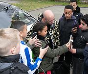 2019, April 17. IJFC, IJsselstein, The Netherlands. Jayjay Boske at Creators FC - IJFC Legends.