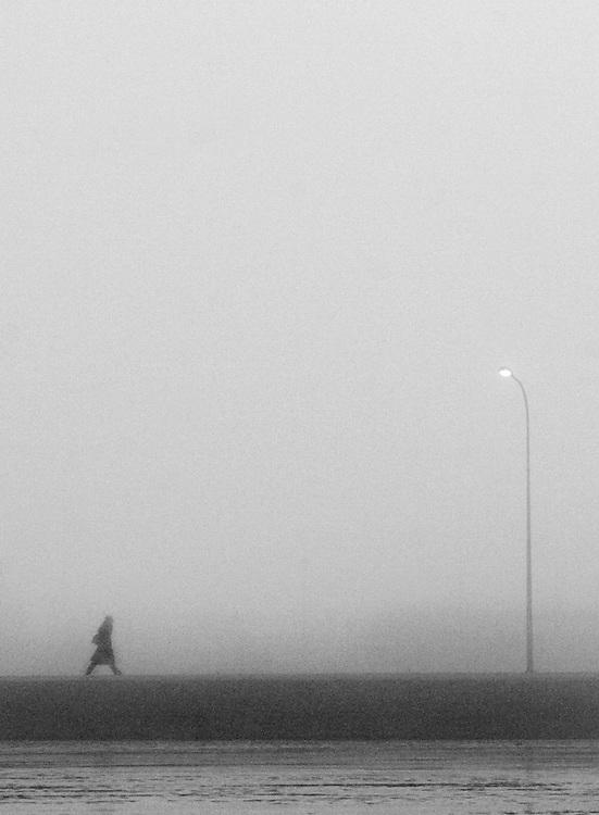 Morning Walk in Reykjavik, Iceland