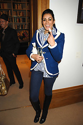 SERENA REES at a private view of Paul Simonon's recent paintings held at Thomas Williams Fine Art, 22 Old Bond Street, London on 15th April 2008.<br />