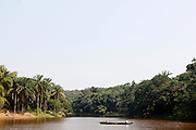 A view of the Lukuya river outside of the capital Kinshasa. ..Zute & Demelza Lightfoot.www.lightfootphoto.com