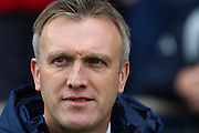Crewe Alexandra forward Steve Davis during the Sky Bet League 1 match between Chesterfield and Crewe Alexandra at the Proact stadium, Chesterfield, England on 20 February 2016. Photo by Aaron Lupton.