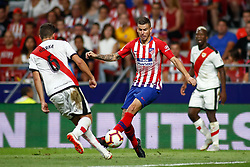 August 25, 2018 - Lucas Hernandez of Atletico de Madrid during the spanish league, La Liga, football match between Atletico de Madrid and Rayo Vallecano on August 25, 2018 at Wanda Metropolitano stadium in Madrid, Spain. (Credit Image: © AFP7 via ZUMA Wire)
