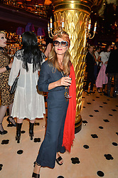 TIGGY MACONOCHIE at a party to celebrate Pam Hogg receiving an honorary Doctorate from Glasgow University held at Park Chinois, 17 Berkeley Street, London on 11th July 2016.