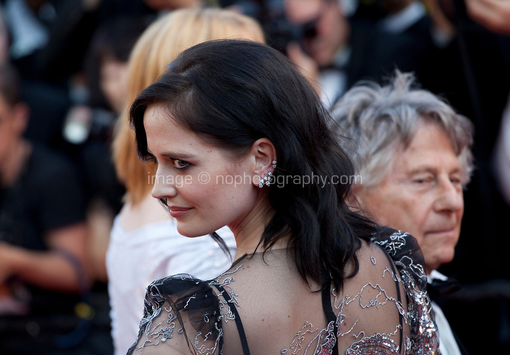 Director Roman Polanski and actress Eva Green at Based on a True Story (D'apres Une Histoire Vraie) gala screening at the 70th Cannes Film Festival Saturday 27th May 2017, Cannes, France. Photo credit: Doreen Kennedy