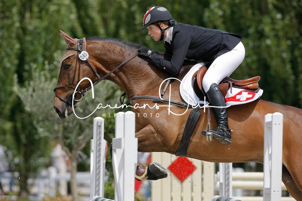 Altorfer Ariane (SUI) - Doctor Know<br /> European Championship Childern - Moorsele 2009<br /> © Hippo Foto - Dirk Caremans
