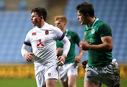 Will Butler of England U20 - Mandatory by-line: Robbie Stephenson/JMP - 16/03/2018 - RUGBY - Ricoh Arena - Coventry, England - England U20 v Ireland U20 - Six Nations U20