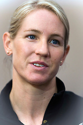 Alison Shanks after being named in the  team for the UCI World Track Cycling Championships, Invercargill Velodrome, Invercargill, New Zealand, Wednesday, March 21 2012. Credit:SNPA / Dianne Manson