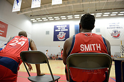 Bristol Flyers subs look on - Photo mandatory by-line: Dougie Allward/JMP - 17/09/2016 - BASKETBALL - SGS Wise Arena - Bristol, England - Bristol Flyers v Worcester Wolves - Exhibition Game