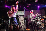 Astr performing at Le Poisson Rouge as part of the Red Bull Sound Select Series in New York, NY on February 19, 2014.