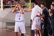 DESCRIZIONE : Cagliari Qualificazione Eurobasket 2009 Serbia Italia <br /> GIOCATORE : Marco Mordente <br /> SQUADRA : Nazionale Italia Uomini <br /> EVENTO : Raduno Collegiale Nazionale Maschile <br /> GARA : Serbia Italia Serbia Italy <br /> DATA : 20/08/2008 <br /> CATEGORIA : Delusione <br /> SPORT : Pallacanestro <br /> AUTORE : Agenzia Ciamillo-Castoria/S.Silvestri <br /> Galleria : Fip Nazionali 2008 <br /> Fotonotizia : Cagliari Qualificazione Eurobasket 2009 Serbia Italia <br /> Predefinita :
