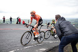 Riejanne Markus (NED) of CCC-Liv Team climbs on Black Mountain on Stage 6 of 2019 OVO Women's Tour, a 125.9 km road race from Carmarthen to Pembrey, United Kingdom on June 15, 2019. Photo by Balint Hamvas/velofocus.com