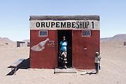 Orupembe bottle shop,  Kaokoland. Northern Namibia..© Zute and Demelza Lightfoot.www.lightfootphoto.com