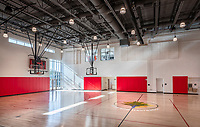 Architectural Interior of Edgewood Recreation Center in Washington DC by Jeffrey Sauers of CPI Productions