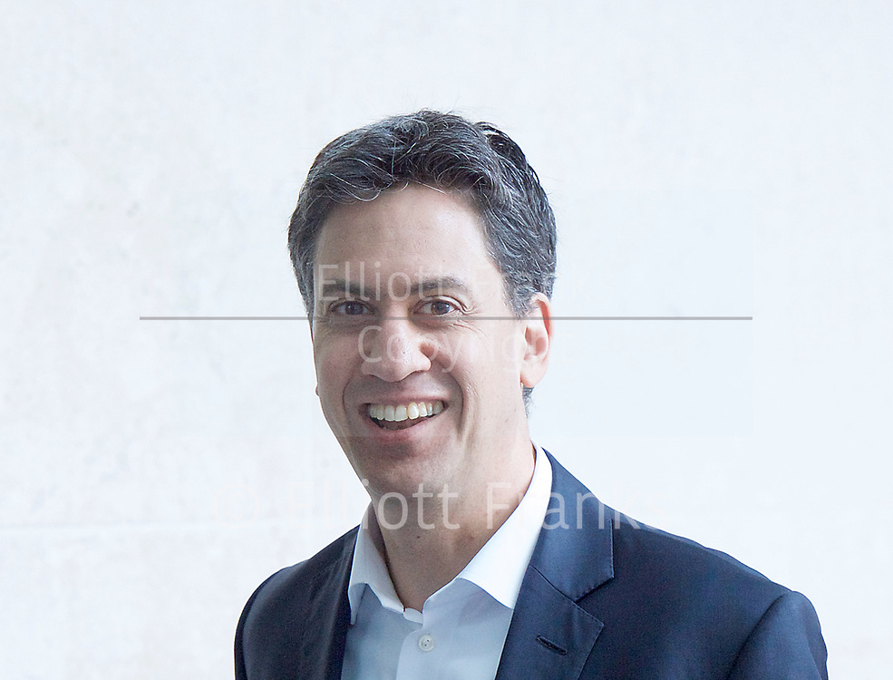 The Andrew Marr Show arrivals at the BBC, Broadcasting House, London, Great Britain <br /> 2nd April 2017 <br /> <br /> <br /> Ed Miliband MP<br /> former leader of the labour party <br /> <br /> Photograph by Elliott Franks <br /> Image licensed to Elliott Franks Photography Services