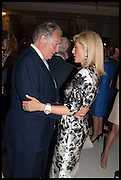 LORD HINDLIP; MARIE CHANTAL PRINCESS OF GREECE; , Cartier dinner in celebration of the Chelsea Flower Show. The Palm Court at the Hurlingham Club, London. 19 May 2014.