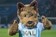 Huddersfield club mascot during the Sky Bet Championship match between Huddersfield Town and Rotherham United at the John Smiths Stadium, Huddersfield, England on 15 December 2015. Photo by Mark P Doherty.