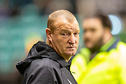 Brian Rice, manager of Hamilton Academical FC before the Ladbrokes Scottish Premiership match between Hibernian FC and Hamilton Academical FC at Easter Road Stadium, Edinburgh, Scotland on 22 January 2020.