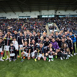 Falkirk 1 v 0 Morton, Scottish Championship game  played 1/5/2016 at The Falkirk Stadium.