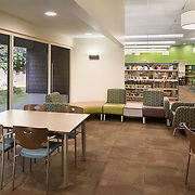 interior improvements on Arden Dimick Library, Sacramento Public Library, CA