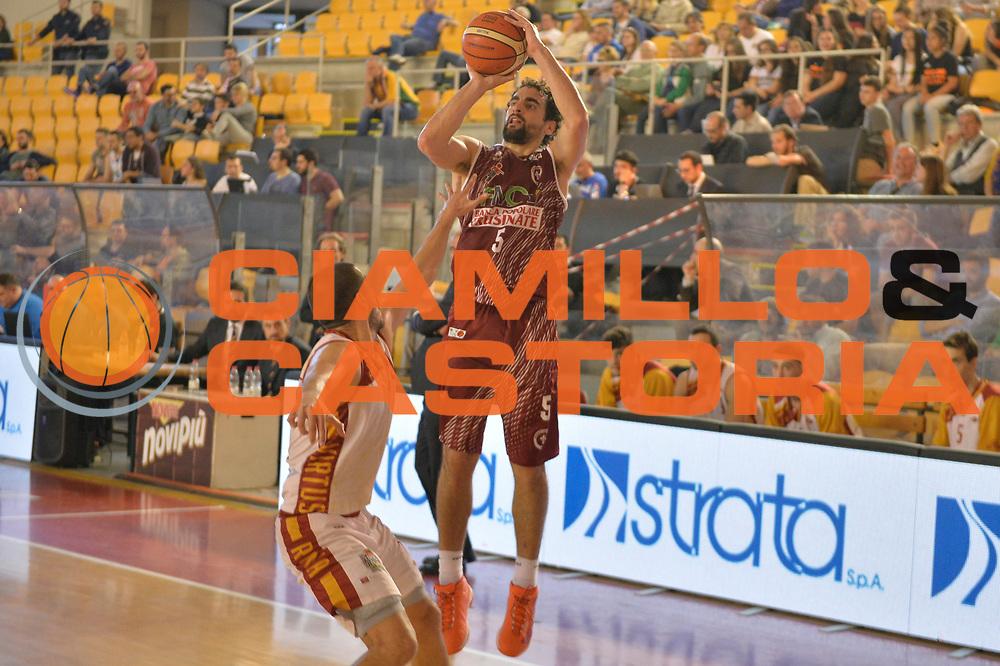 Bernardo Musso<br /> Unicusano Virtus Roma - FMC Ferentino<br /> Campionato Basket LNP 2016/2017<br /> Roma 15/04/2017<br /> Foto M.Ceretti / Ciamillo-Castoria