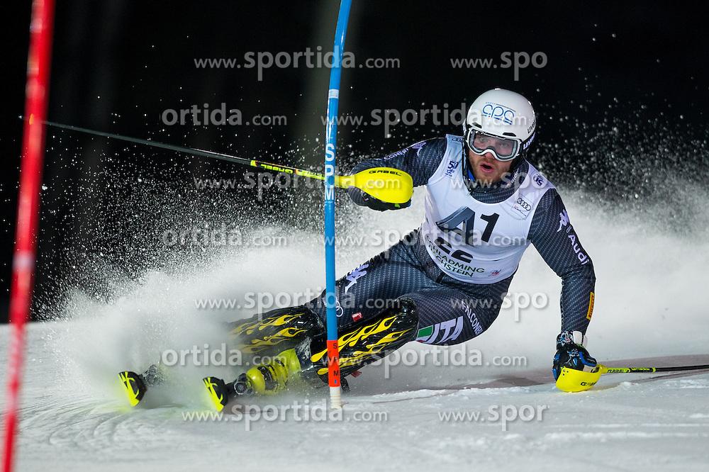 Giuliano Razzoli (ITA) during the 7th Mens' Slalom of Audi FIS Ski World Cup 2016/17, on January 24, 2017 at the Planai in Schladming, Austria. Photo by Martin Metelko / Sportida