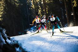 Quentin Fillon Maillet (FRA) during the Men 20 km Individual Competition at day 1 of IBU Biathlon World Cup 2019/20 Pokljuka, on January 23, 2020 in Rudno polje, Pokljuka, Pokljuka, Slovenia. Photo by Peter Podobnik / Sportida