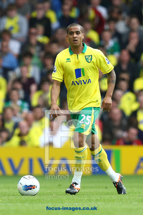 Picture by Paul Chesterton/Focus Images Ltd.  07904 640267.13/05/12.Kyle Naughton of Norwich in action during the Barclays Premier League match at Carrow Road Stadium, Norwich.