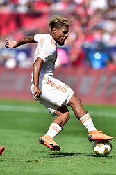 September 30, 2018 - Harrison, New Jersey, USA - Atlanta United FC forward JOSEF MARTINEZ (7) is seen at Red Bull Arena in Harrison New Jersey New York defeats Atlanta 2 to 0 (Credit Image: © Brooks Von Arx/ZUMA Wire)