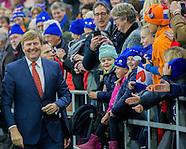 KIng WIllem-ALexander opens Thialf Ice Skate Stadium, Heerenveen 27-01-217