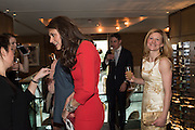 OLIVIA COLE; MELISSA MCADDEN, Spectator Life - 3rd birthday party. Belgraves Hotel, 20 Chesham Place, London, SW1X 8HQ, 31 March 2015