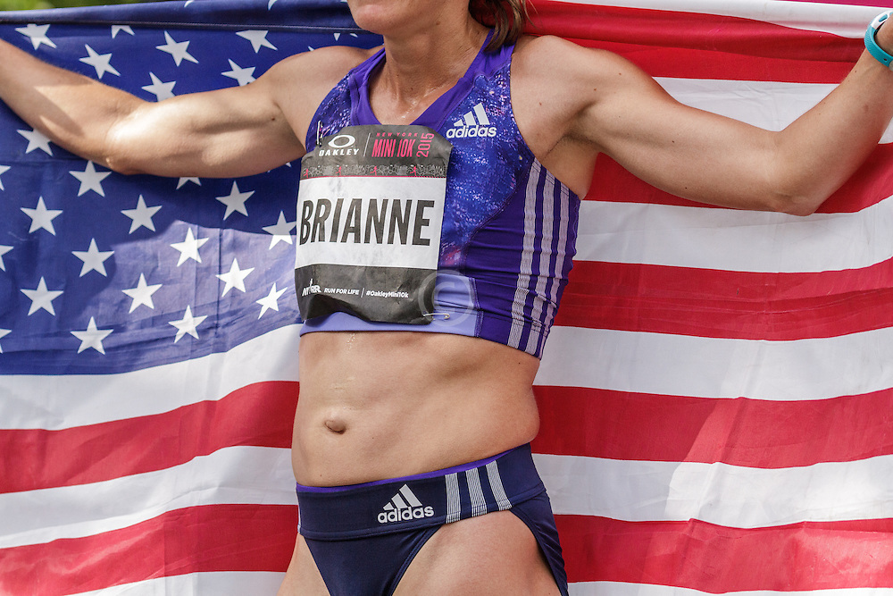 NYRR Oakley Mini 10K for Women: Brianne Nelson, USA, top American, adidas