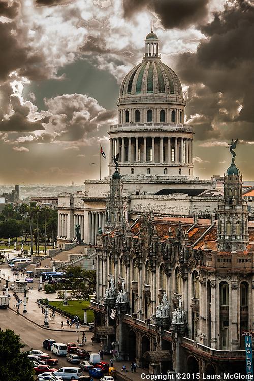 El Capitolio & Teatro Nacional, Havana Cuba