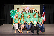 2017 4H District and state officers