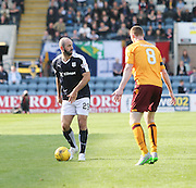 Dundee&rsquo;s Gary Harkins - Dundee v Motherwell - Ladbrokes Premiership at Dens Park<br /> <br /> <br />  - &copy; David Young - www.davidyoungphoto.co.uk - email: davidyoungphoto@gmail.com