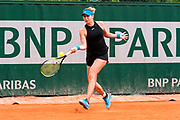 Belinda Bencic (sui) during the Roland Garros French Tennis Open 2018, day 2, on May 28, 2018, at the Roland Garros Stadium in Paris, France - Photo Pierre Charlier / ProSportsImages / DPPI
