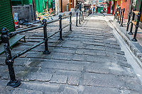 pedestrian streets Soho Central in Hong Kong