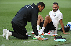 June 5, 2018 - Brussels, BELGIUM - Egypt's Ahmed Elmohamady pictured before a training session of the Egyptian national soccer team, Tuesday 05 June 2018, in Brussels. Egypt will play on Wednesday a friendly game against the Belgian national soccer team Red Devils to prepare the upcoming FIFA World Cup 2018 in Russia. BELGA PHOTO VIRGINIE LEFOUR (Credit Image: © Virginie Lefour/Belga via ZUMA Press)