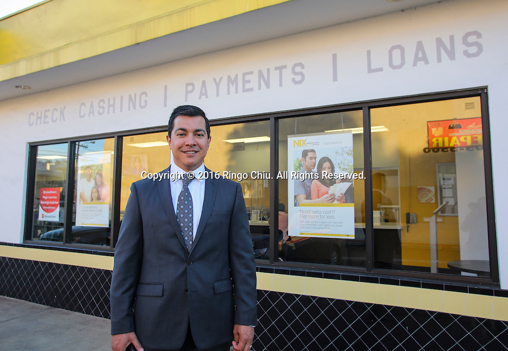 Luis Peralta, President of Kinecta Alternative Financial Solutions, dba Nix Neighborhood Lending.<br /> (Photo by Ringo Chiu/PHOTOFORMULA.com)<br /> <br /> Usage Notes: This content is intended for editorial use only. For other uses, additional clearances may be required.