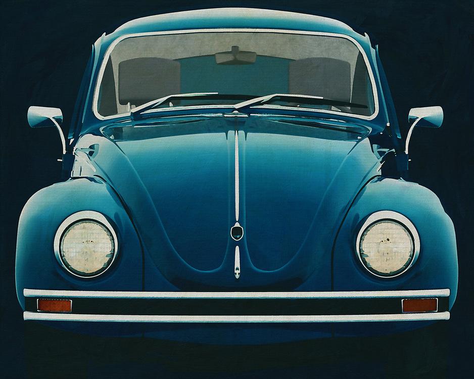 The Volkswagen Beetle! With this painting of the front of the legendary Volkswagen Beetle you get a nice detail. This Volkswage beetle seems to have come around the corner -<br /> <br /> BUY THIS PRINT AT<br /> <br /> FINE ART AMERICA<br /> ENGLISH<br /> https://janke.pixels.com/featured/front-of-a-volkswagen-beetle-jan-keteleer.html<br /> <br /> WADM / OH MY PRINTS<br /> DUTCH / FRENCH / GERMAN<br /> https://www.werkaandemuur.nl/nl/shopwerk/Volkswagen-Kever-Sedan-1972-Voorkant/571999/132